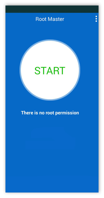 Старт Root Master для Android