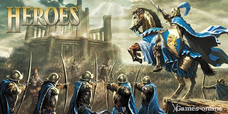 Heroes of Might and Magic игра по стеи