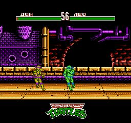 Черепашки Ниндзя 4 - Турнир / Teenage Mutant Ninja Turtles 4 - Tournament Fighters
