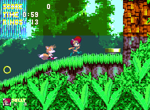 Sonic 3 and Sally Acorn