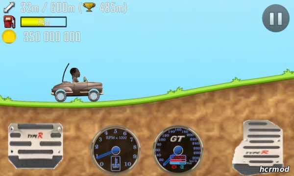 скачать игру hill climb racing много денег и бесконечный бензин